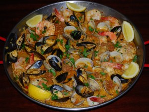 A Taste of Spain (Paella)