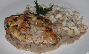 French Dinner (Chicken Dijonnaise)