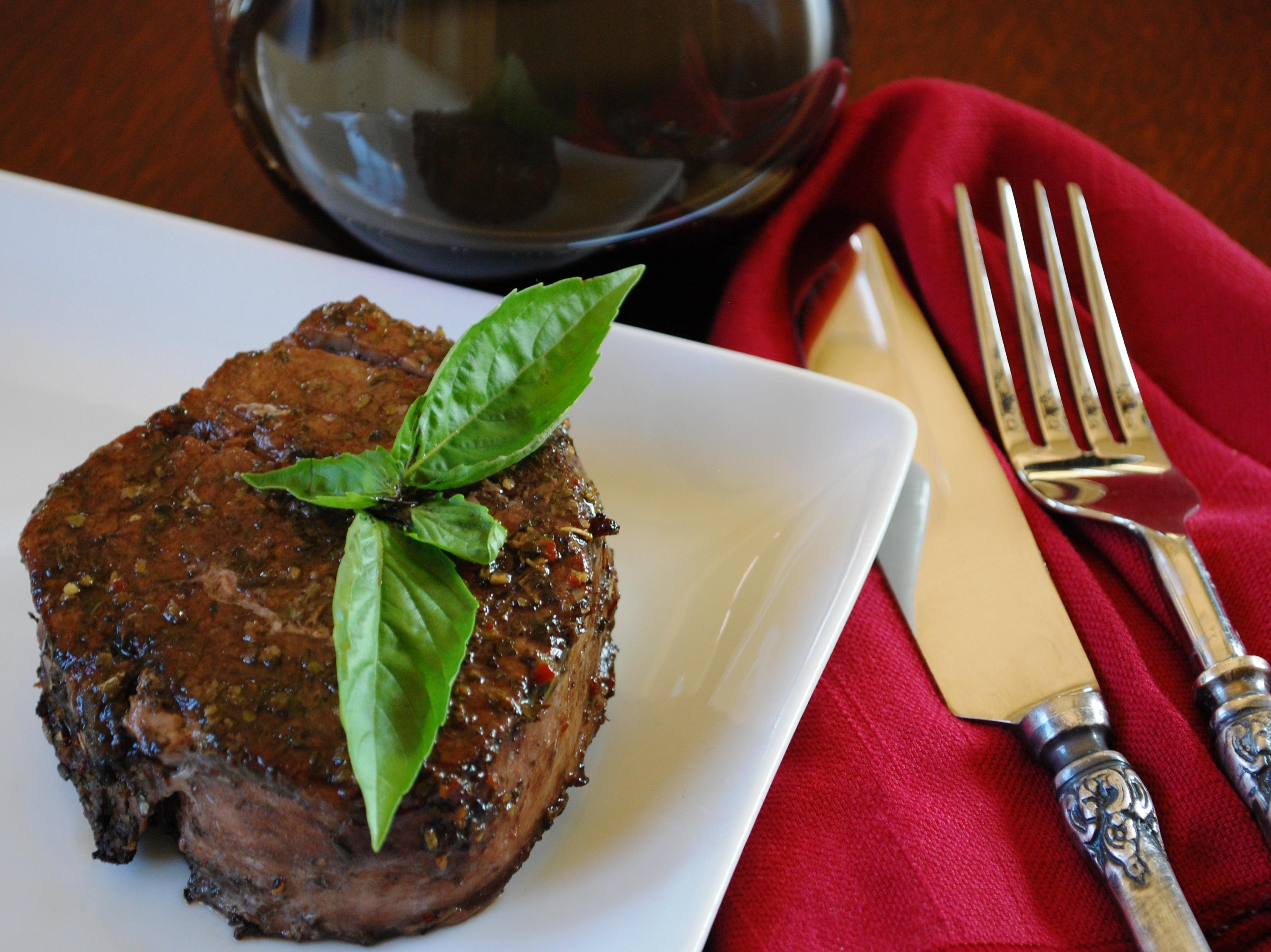 Grilled Filet Mignon Marinade