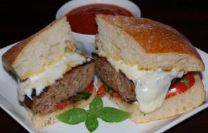 Easy Dinner (Italian Style Burger)