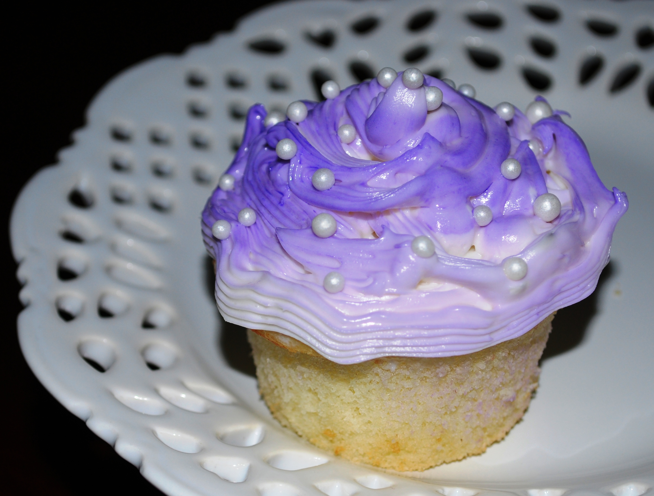 Lavender Colored Cupcakes Recipes — Dishmaps