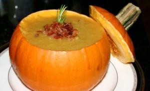 Fall/Halloween Dinner Party (Pumpkin Soup)