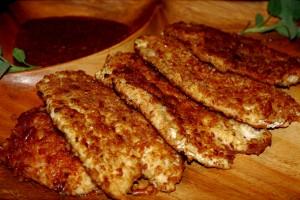 Easy Weeknight Dinner (Pretzel Encrusted Chicken Schnitzel)